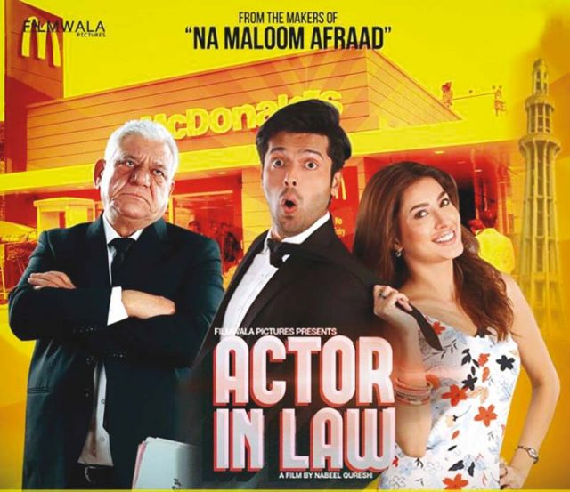 Fahad Mustafa can compete with any Bollywood actor Om Puri