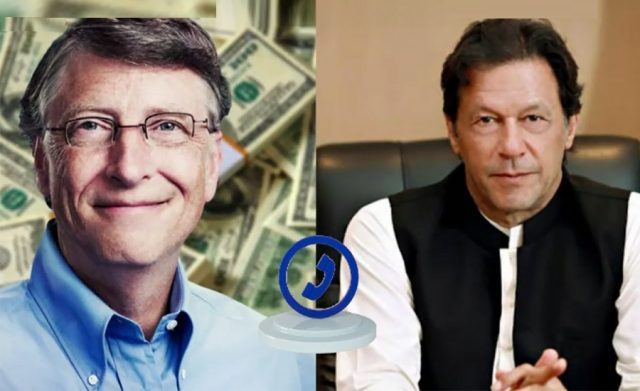 PM Imran Khan phones Bill Gates to discuss COVID-19 pandemic