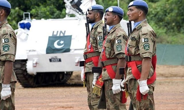 Pakistan's peacekeeping role highlighted