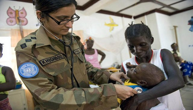 Pakistan boosts female participation in UN peacekeeping operations
