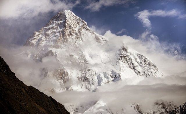 3 K2 is the second highest mountain in the world at 8,611 metres above sea level.