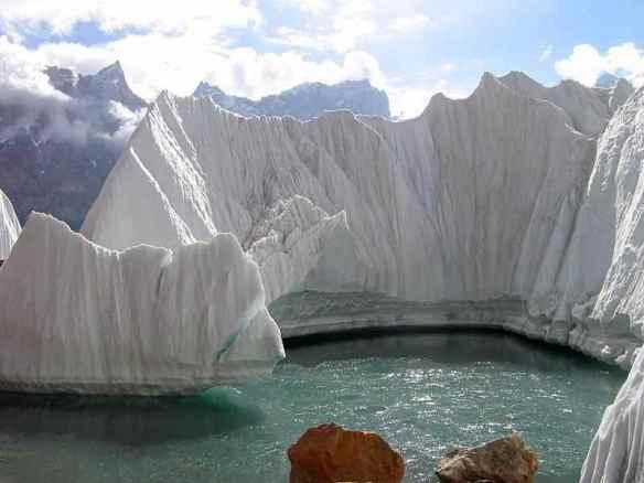 Baltoro glacier IN PAKISTAN