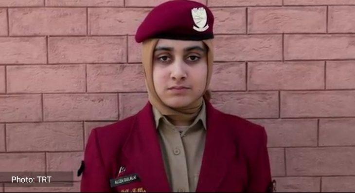Cadet Aliza Gulalai