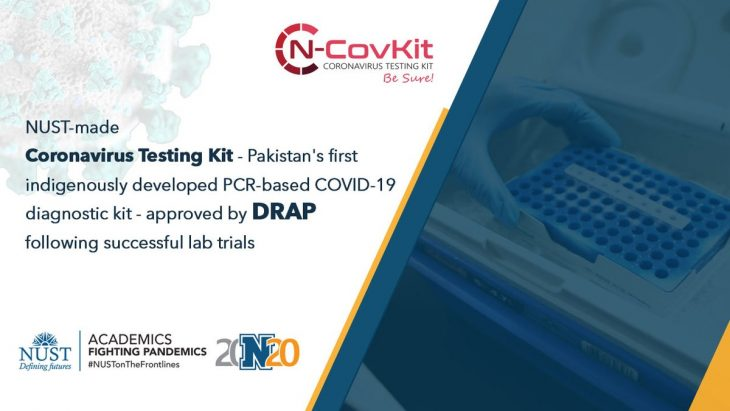 DRAP Approved First Pakistani local Covid-19 Testing Kit