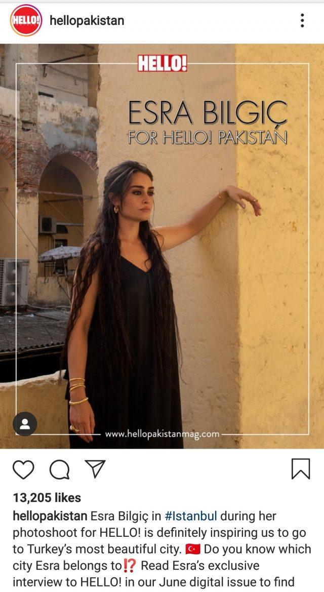 Esra Bilgiç Pakistan