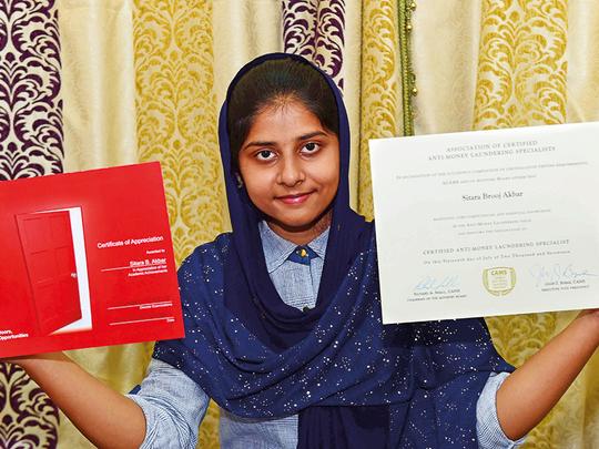 Sharjah wonder girl Sitara sets another record Education