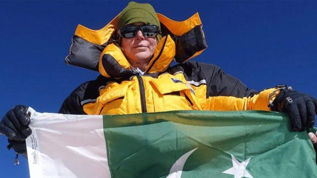 Goodwill Ambassador Vanessa O'Brien Carries Pakistan's Flag