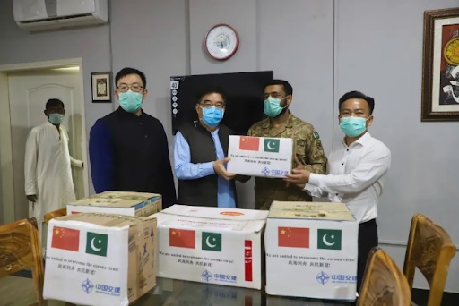 China Harbour donates COVID-19 prevention supplies to Pakistan