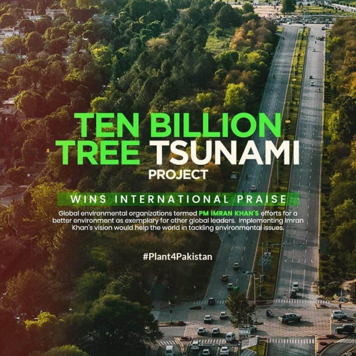 PM Khan's Billion Tree Project Receives Global Appreciation