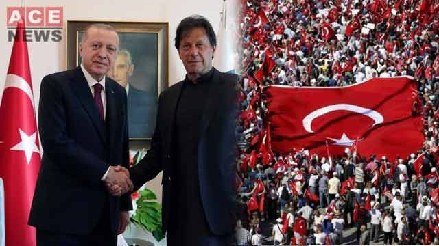 PM Imran Khan Congratulates Turkish President National Unity Day