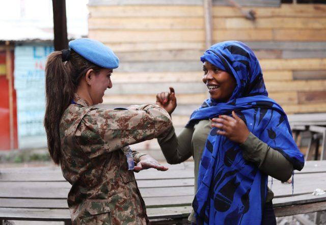 Pakistani women peacekeepers win more praise