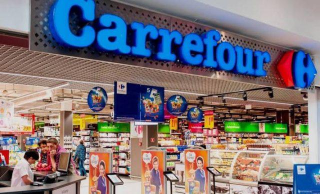 Carrefour supermarket entrance