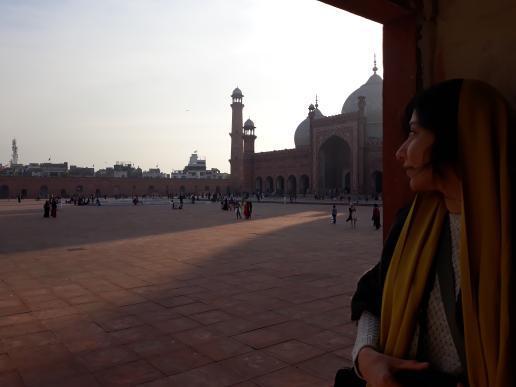 بازدید بادشاهی مسجد در سفر به پاکستان
