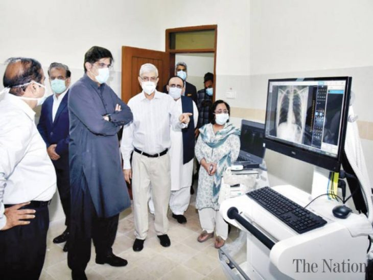 Sindh Infectious Diseases facility begins operations