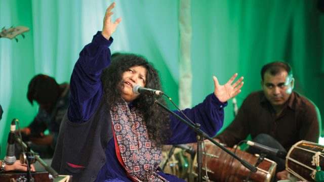 Abida Parveen enthrals audience during Manchester International