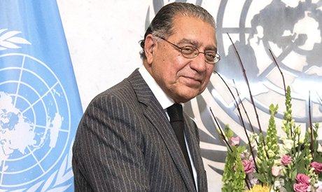 ECOSOC President 2020 His Excellency Munir Akram