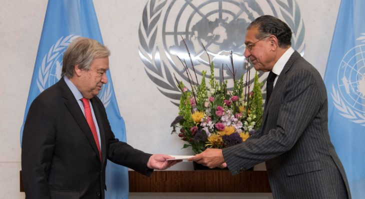 New ECOSOC President outlines focus on pandemic, SDGs and climate