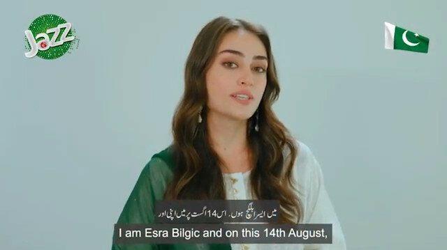 Pakistan Zindabad! Esra Bilgic extends Independence Day wishes