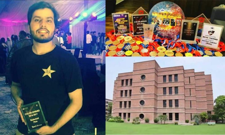 Saad Amer sets new Graduate Record Examination record