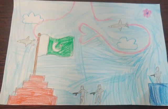 نقاشی زینب نصیر