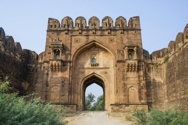 Rohtas_Fort_Gate