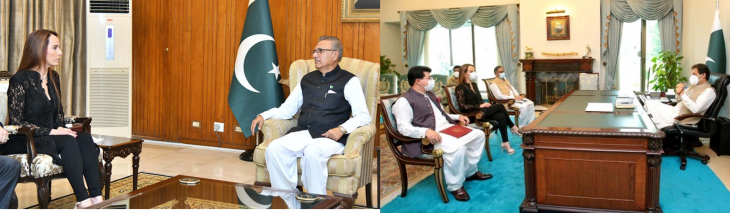 IPU President IN PAKISTAN