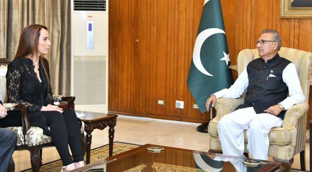 IPU President calls on PM Khan, President Alvi