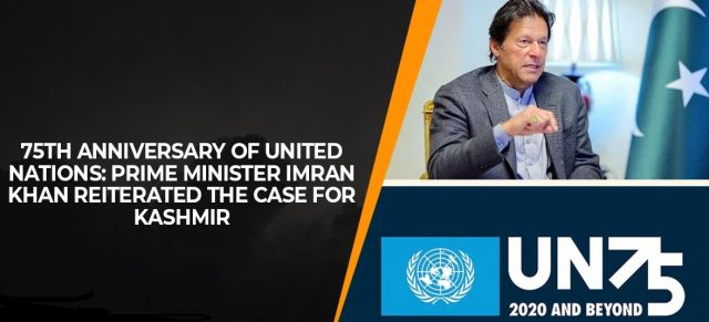 75th anniversary of United Nations Prime Minister Imran Khan