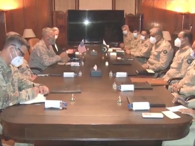 COAS, US commander discuss Afghan peace ahead of Taliban talks