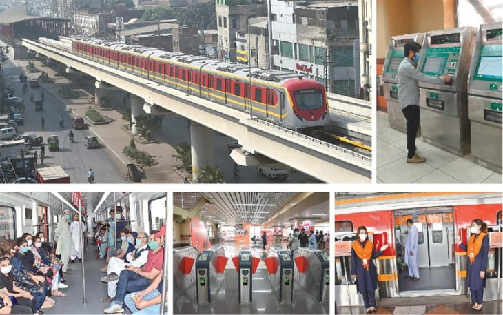 Country's first major mass transit project opens