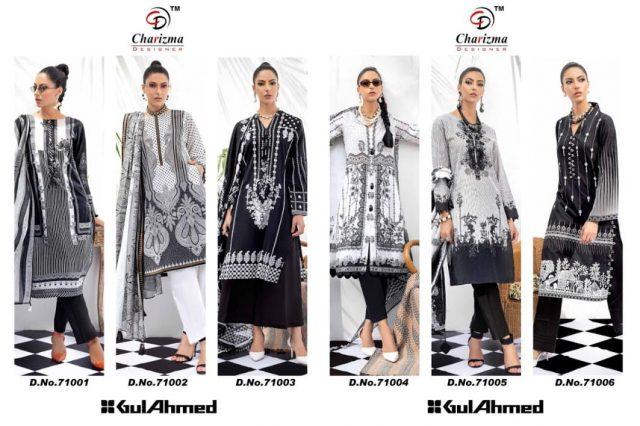 Gul Ahmed Charizma Designer Pakistani Dress Material
