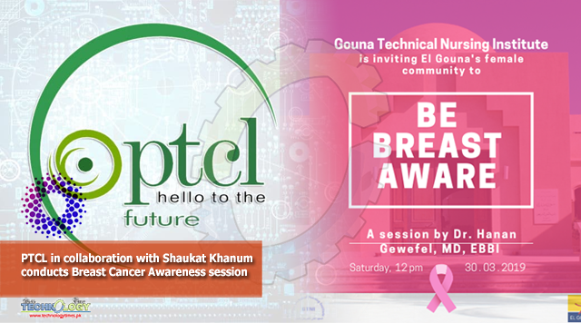 PTCL In Collaborate With Shaukat Khanum take Breast Cancer Awareness