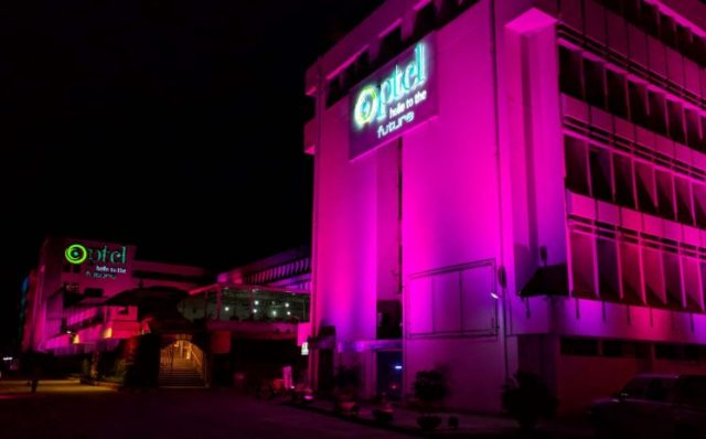PTCL's Headquarter Building Illuminated Pink for Breast Cancer Awareness Month