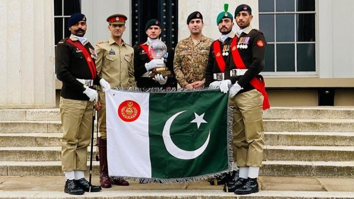 Pakistan Army Wins International Military Competition For 3rd Year in a Row