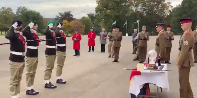 Pakistan Army wins UK military drill contest for 3rd consecutive year