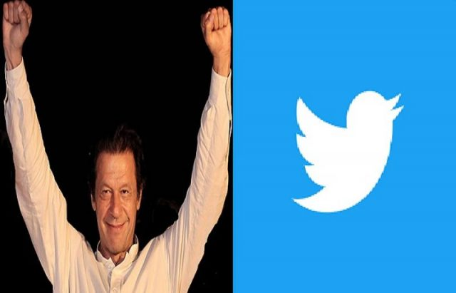 Prime Minister Imran Khan crosses followers on twitter