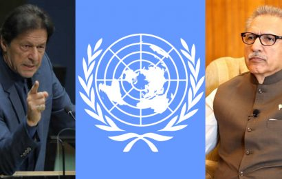 UN 75th anniversary PM AND President urge to take action against Indian oppression