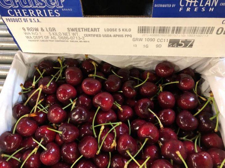 China's Cherry Imports