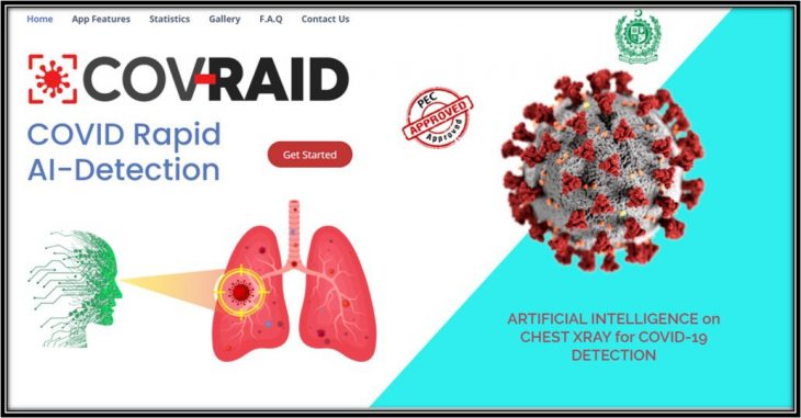 Pakistani scientists roll out software that can detect COVID-19 in less than a minute