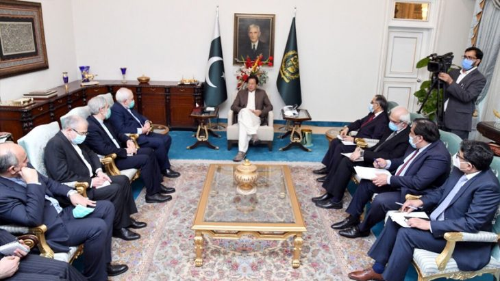 Imran Khan stresses cementing trade relations with Iran