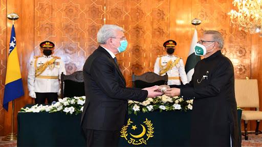 Nishan-e-Pakistan' conferred on Chairman of Presidency of Bosnia and Herzegovina