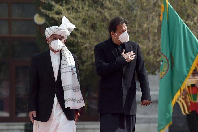 Pakistan's Imran Khan vows to help stem Afghan bloodshed
