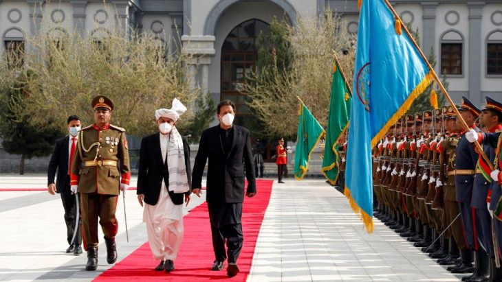 Pakistan's Khan vows to stem Afghan bloodshed on maiden visit