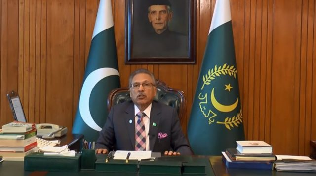 President Alvi Suggests a Trade Triade Between China, ASEAN and Pakistan