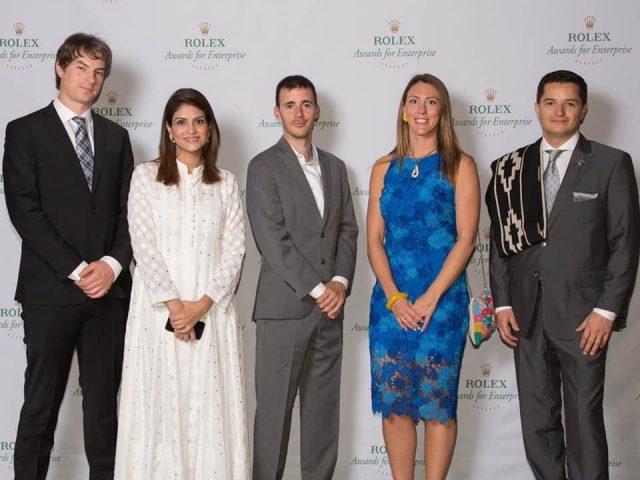Sara Saeed Khurram won the Rolex Award for Enterprise as Associate LAUREATE.