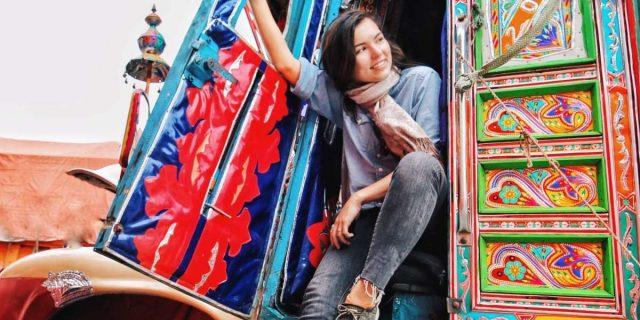 Eva Zu Beck, the Polish Travel Vlogger Promoting Tourism to Pakistan