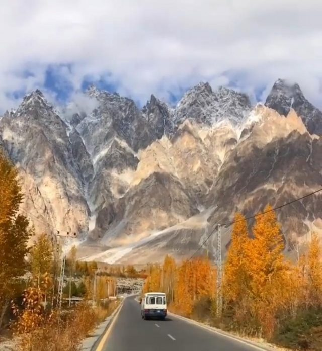 The colours of Gilgit Baltistan just before the onset of winter 2
