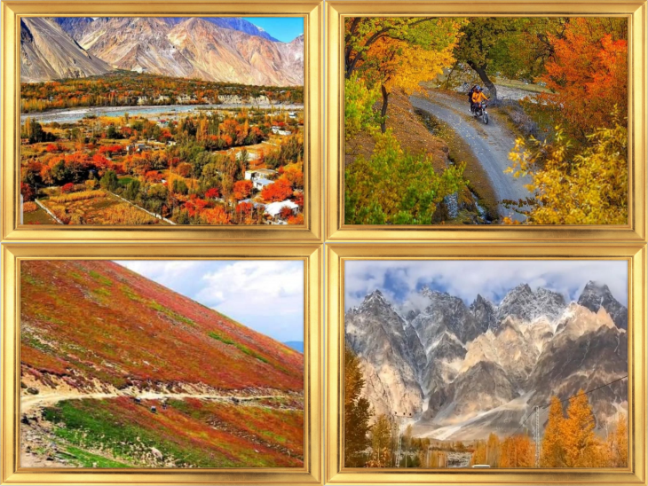 The colours of Gilgit Baltistan just before the onset of winter 4