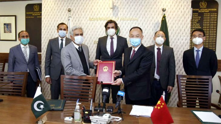 Pakistan and China sign $100m grant agreement for repairment of National Highway-5