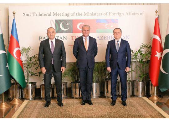 Pakistan, Turkey, Azerbaijan sign joint declaration to improve trade and connectivity